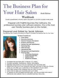 Business plan for a hair salon   Subscribe Now