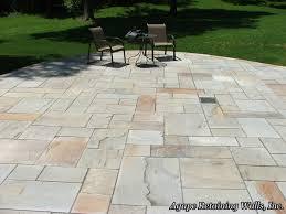 natural stone patio design ideas