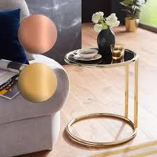 Couchtisch Glas Metall Oval Moderner Rund Ellis Scha C2 B6n