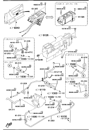 1993 Mazda B2200 Exhaust System Diagram
