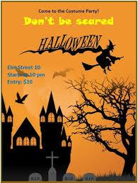 Halloween Dance Flyer Templates Halloween Flyer Template Stationary Templates Halloween
