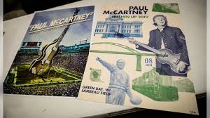 Paul Mccartney Seating Chart Lambeau Packers And Paul Mccartney Concert Merchandise Available At
