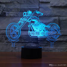 2018 3d motorcycle night light change led table lamp xmas toy gift for boys lamp from zhou2016825 15 87 dhgate com