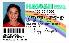 Change To Driver's Welcome - Renewal Idscan net In Hawaii License