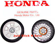 honda lawn mower parts. honda hrt216 hrt216k hrt2162 lawn mower set of 2 rear drive wheels genuine oem honda parts a
