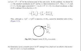 Calculus Problem About Tangent Vector And The Inclusion Map Of The