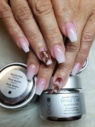 Cnd Brisa Gel Color Chart Cnd Brisa Gel Neutral Pink White In 2019 Gel Nails Cnd