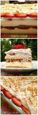 South Your Mouth Strawberry Cream Cheese Icebox Cake