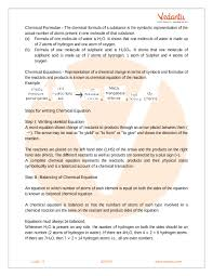 cbse class 10 science chapter 1 chemical reactions and equations revision notes