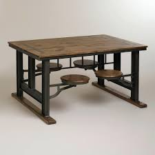 industrial furniture style. Inspiring Industrial Look Dining Set U Apoemforeverydaycom Picture For Rustic Furniture Style And Dot Bo Trend