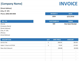 Invoices Office Com Simple Sales Invoice Template Word Mychjp