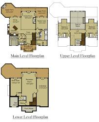 housing floor plans. Floor Plan 3 Story Open Mountain House | Asheville Cool Housing Plans