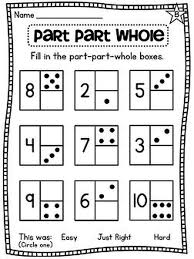 4. everything you need to teach part part whole and other number ...
