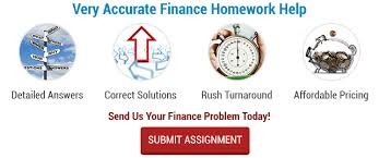 online finance homework help for college students finance homework help