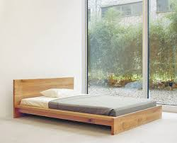 simple wooden bed decor innovative modern frames beds