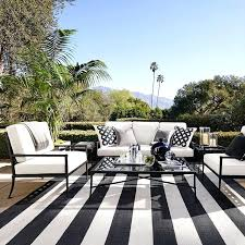 black and white striped outdoor rug striped white and black indoor outdoor carpet black and white