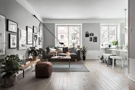 ... White decorating ideas and natural wood in Scandinavian homes