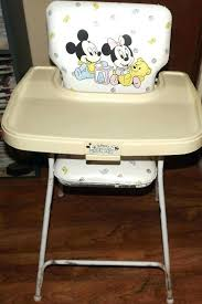 booster high chair kmart mickey mouse high chair adjule high chair target view larger rare vintage booster high chair