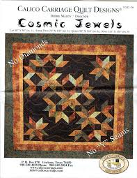 Cosmic Jewels Quilt Pattern by Debbie Maddy Calico Carriage Quilt ... & Cosmic Jewels Quilt Pattern by Debbie Maddy Calico Carriage Quilt Designs  CCQD 139 Lap, Super Twin Queen or King Sizes Adamdwight.com
