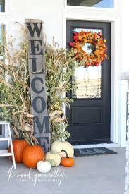 thanksgiving front door decorationsBest Fall Front Door Decorations Love Pinterest Images Of Pictures