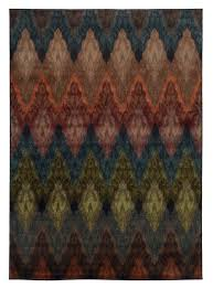 multi color wavy pattern area rug  woodwaves  trendy rugs