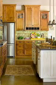 Kitchen cabinets wood Solid Wood Enlarge Aristokraft Elegant Kitchens With Warm Wood Cabinets Traditional Home