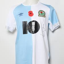 The new blackburn rovers away shirt was released today. Blackburn Rovers Poppy Shirts Charitystars