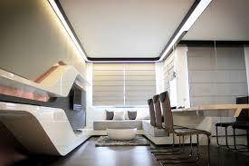 Futuristic Home Interior QSB - Futuristic home interior