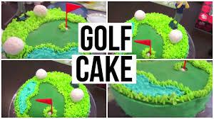 Golf Cake Tutorial Youtube