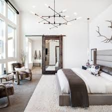 white master bedroom. Inspiration For A Rustic Master Carpeted Bedroom Remodel In Salt Lake City With White Walls