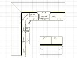 U Shaped Kitchen Floor Plans Design Renovation Updating Layout Renaissance