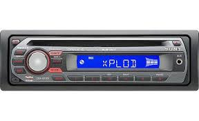 sony cdx gt120 cd receiver at crutchfield com sony cdx gt120 front