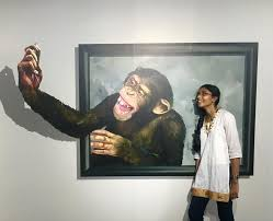 so go ahead and monkey around with selfies on wall art painters in chennai with india s first 3d art museum opens in chennai