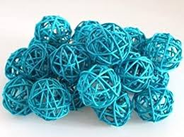 Decorative Sphere Balls Amazon 100 Packages Olivia Decorative Spheres of 100Turquoise 63