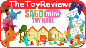Sago Mini App Toy Haul With Books Plushies And Jinjas House