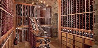 ... Pa The stars aligned perfectly in this remarkably beautiful wine cellar.
