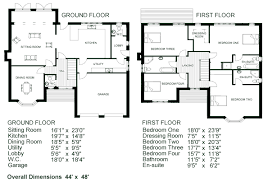 one story floor plans with dimensions. Unique With Awesome Simple 2 Story House Plans 12 Floor With  Dimensions For One A