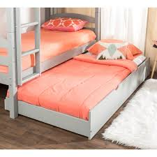 Kids Gray Wood Twin Trundle Bed | Pier 1 Imports