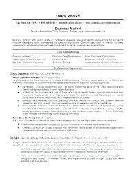 Sample Resume For Business Analyst Impressive System Analyst Sample Resume Beauteous Resume Sample For Business