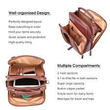 banuce small vintage full grain italian leather messenger bag for men tote satchels cross bag 9 7 ipad purse