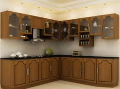 Small Picture Modular Kitchen Bedroom Living and Study Room Design in Kerala