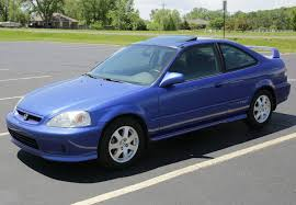 Rare Stocker: Electron Blue 2000 Honda Civic Si | Bring a Trailer