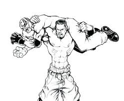 Small Picture stunning fascinating wwe wrestlers coloring pages free download
