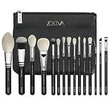 zoeva luxe plete 15 pennelli makeup brushes professional set blending premium artist zoe bag