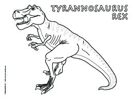 T Rex Coloring Pages To Print T Dinosaur Coloring Pages Little Kids