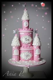 Castle Cake Cake By Red Polka Dot Designs Was Gmssc Cakesdecor