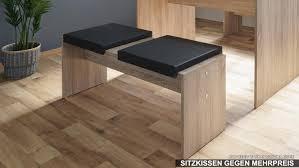 Esszimmer Set Berlin Esstisch Tisch Bank Essgruppe In Beton Grau