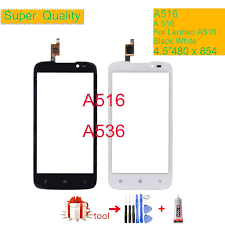 For lenovo A516 A536 Touch Screen Glass ...