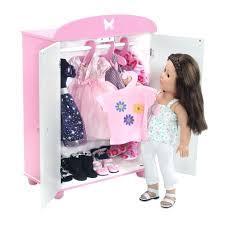 badger toys doll bunk beds armoire badger basket armoire folding doll furniture set unfold