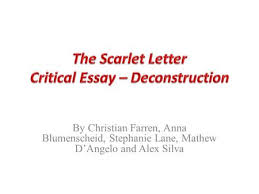 the scarlet letter chapter summaries ppt video online  by christian farren anna blumenscheid stephanie lane mathew d angelo and alex